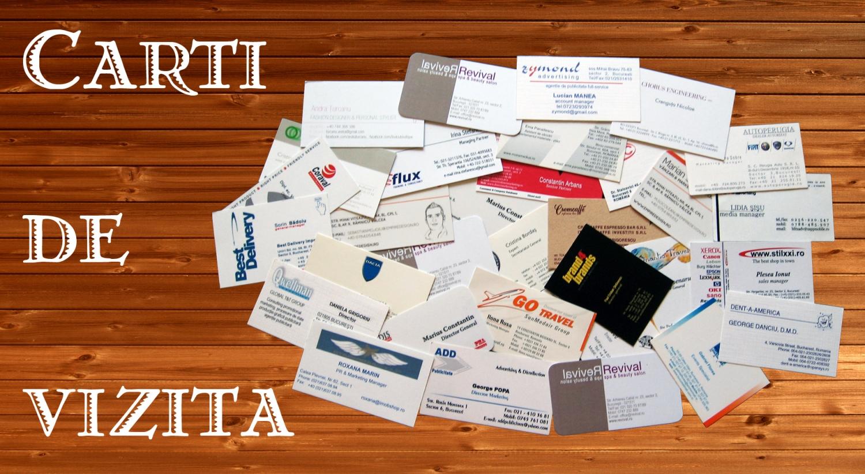 Tipar digital Carti de vizita