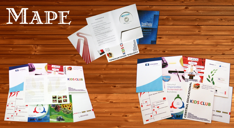 Tipar digital mape personalizate