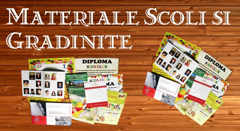 Tipar digital Diplome / Atestate / Certificate